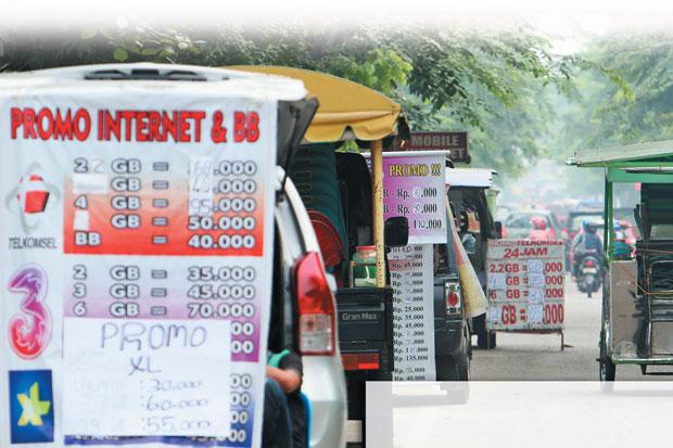 Banting Harga Kuota Internet, Pekerja dan Mahasiswa di Bandar Lampung Pilih 3 karena Banyak Gratisan dan Murah
