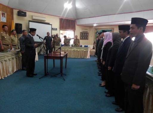 Inilah 10 Pejabat Baru Pemkab Lampung Timur yang Dilantik Hari Ini