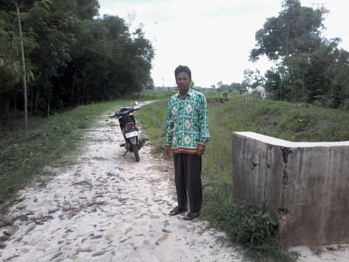 Jika Menyalahi Aturan, Kades Purbasakti Lampung Utara Siap Bertanggung Jawab