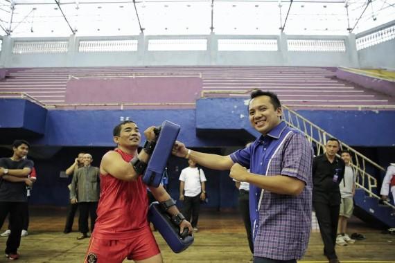 Gubernur Lampung Tinjau Persiapan Atlet PON
