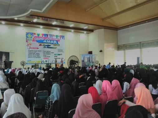 Peluncuran Amar di GSG IAIN Raden Intan Lampung, Minggu, 25/9/2016. | Desliyani/Jejamo.com