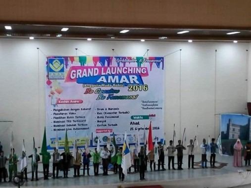 Grand Launching Amar FKAR Bandar Lampung di GSG IAIN Raden Intan Lampung, Minggu, 25/9/2016. | Desliyani/Jejamo.com