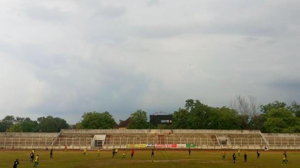 SS Lampung FC kontra Kampush City di stadion PKOR Way Halim Bandar Lampung | Danu/jejamo.com