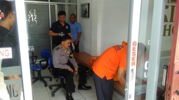 Breaking News: Studio Foto di Kota Baru Bandar Lampung Dibobol Pencuri