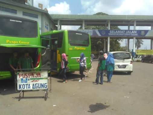 Pengunjung Pasar Sentral Kotabumi Jelang Idul Adha Belum Ada Peningkatan