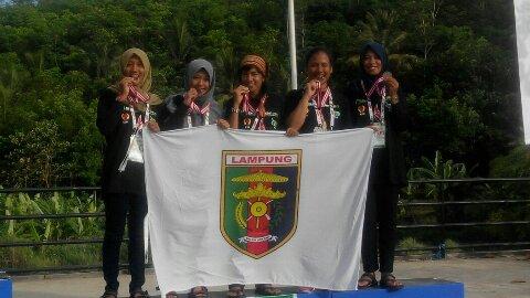Mahasiswi IAIN Raden Intan Lampung Ini Ikut Andil Lampung Raih Perunggu Arung Jeram PON XIX Jabar