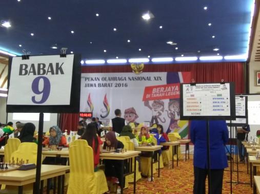 PON XIX Jawa Barat, Pecatur Lampung Via Lastiningtyas Kalah di Babak Terakhir