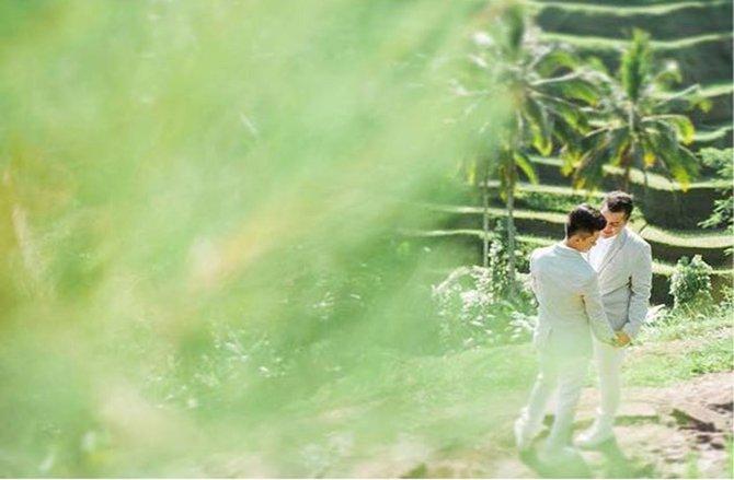Pulau Dewata Kembali jadi Tempat Foto Pasangan Sejenis