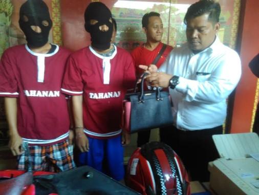 Polwan Polda Lampung Dijambret, Pelakunya Dua Orang sudah Ditangkap