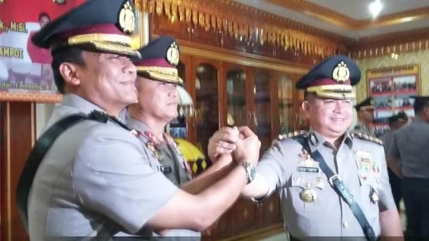 Kombespol Bonifasius Tampoi Hari Ini Resmi Menjabat Wakapolda Lampung