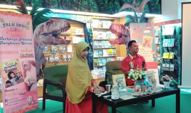 Penulis Lampung Fitri Restiana Luncurkan Buku Aku Cerdas Mengelola Emosi