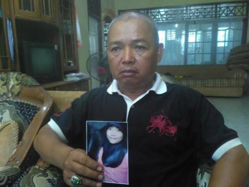 Ali Husin: Indri Pulang Nak, Ayah dan Ibu Merindukanmu