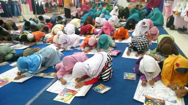 Anak Yatim Berjubel di Ramayana Robinson Ikuti Acara Yatim Mandiri Lampung Ini, Event Apa Sih