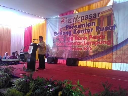 Kata Wali Kota Herman HN, PNS Bandar Lampung Diimbau Tabung Rp100 Ribu/Bulan di Bank Ini