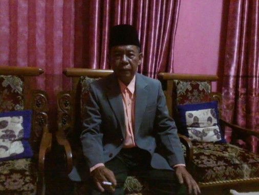 Tokoh Adat adat Karta Mergo Buai Bulan Udik Migo Pak Tulang Bawang, Basyuni | Mukaddam/jejamo.com