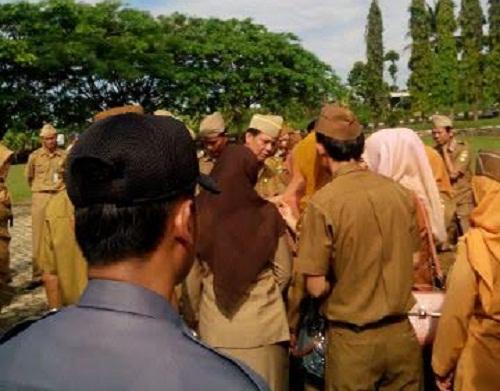 Dijadikan Tersangka oleh KPK, Bupati Tanggamus Bambang Kurniawan Minta Maaf Sudah Bikin Malu
