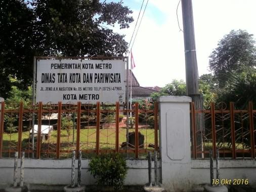 Anna Morinda Minta Taman Yosomulyo Dirawat, Dinas Tata Kota dan Pariwisata Metro: Tak Ada Dana