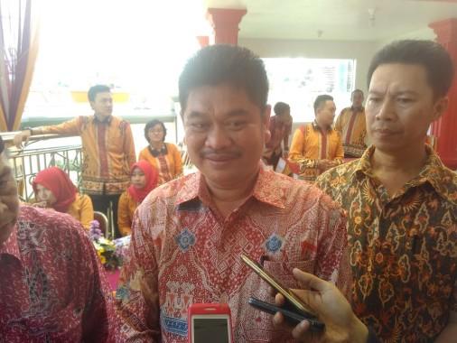 Direktur Utama Bank Pasar Bandar Lampung  Ahmad Tamidi. | Andi Apriyadi/Jejamo.com