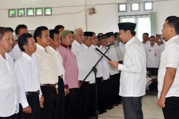 Bupati Agung Ilmu Mangkunegara Kukuhkan FK LPM se-Lampung Utara