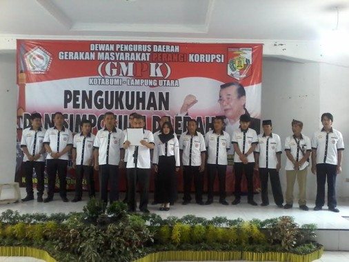 Pengurus DPD GMPK Lampung Utara Dikukuhkan