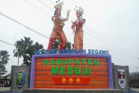 Warga Simpang Pematang Mesuji Keluhkan Pembangunan Jalan Provinsi yang Dinilai Asal Jadi