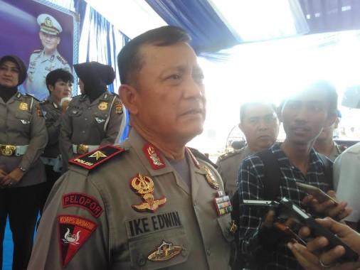 Kapolda Lampung Brigjen Ike Edwin | Andi/jejamo.com