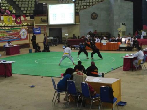 Kiprah Atlet Pencak Silat IAIN Raden Intan Lampung dalam Kejurnas di Unila