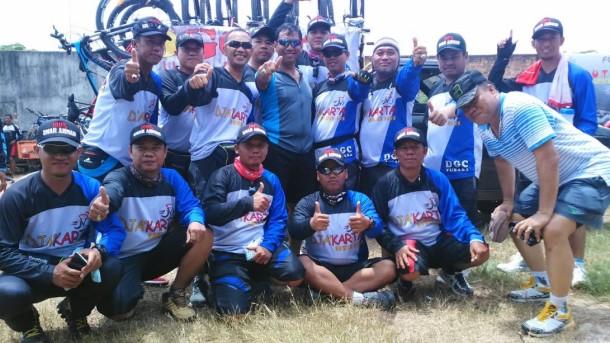Club Sepeda asal Tulang Bawang Barat, DjaKarta | ist