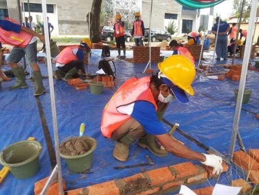 Dinas Bina Marga Provinsi Lampung menggelar lomba pekerja konstruksi, Rabu, 12/2016 | Sugiono/jejamo.com