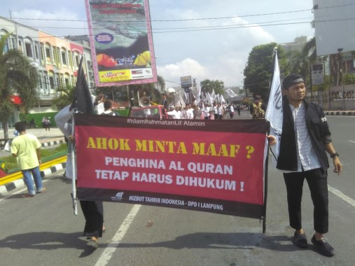 HTI Lampung Minta Warga Muslim Jakarta Berhenti Dukung Ahok