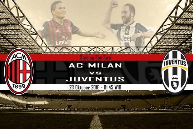 Milan Coba Hambat Laju Positif Juventus di Serie A