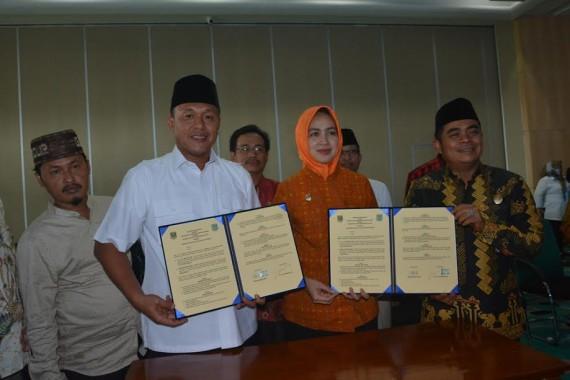 Pemkab Lampung Tengah Kerjasama Penataan Kota dengan Tanggerang Selatan