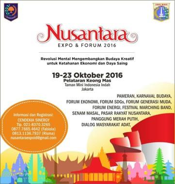 Ikuti Nusantara Expo di TMII, Ini yang akan Disuguhkan Lampung