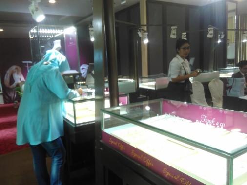 Pameran Perhiasan di Hotel Horison Bandar Lampung, Paling Murah Rp5 Juta, Termahal Setengah Miliar