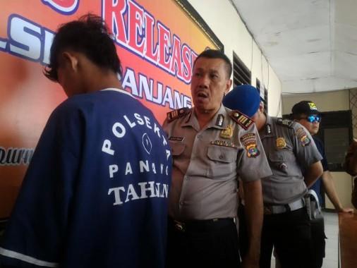 Polsekta Panjang Tangkap Buronan Kasus Pembunuhan