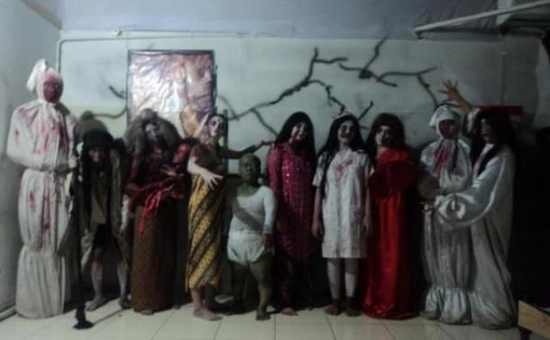 Cerita Pengalaman Mistis Para Pemeran Hantu di Rumah Hantu Indonesia