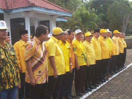 Kader Partai Golkar Lampung Ziarahi Taman Makam Pahlawan
