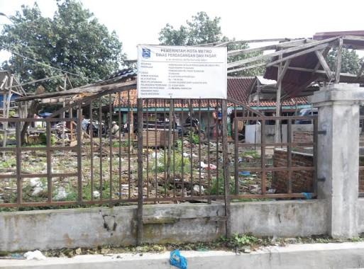 Pasar Tradisional Moderen di Desa Tejo Agung, Kecamatan Metro Timur, Kota Metro | Parman/jejamo.com