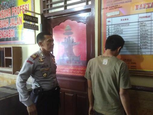 Pelaku Pencurian Menyerahkan Diri ke Polsek Terbanggi Besar Lampung Tengah