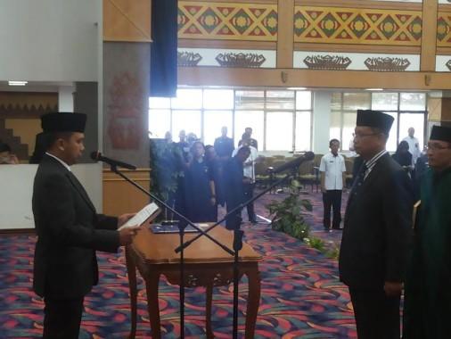 Gubernur Lampung Lantik Sutono jadi Sekdaprov