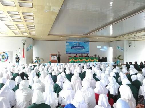 Pelatihan Kader Dai UKM Bapinda IAIN Raden Intan Lampung. | Desliyani/Jejamo.com