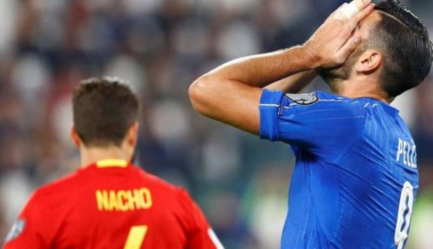 Tolak Jabat Tangan Pelatih Saat Diganti, Graziano Pelle Dicoret dari Timnas Italia
