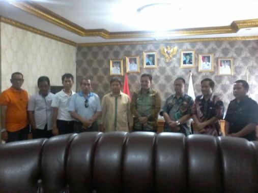 Bahas Porprov, Pengurus IPSI Audiensi dengan Wakil Bupati Lampung Utara