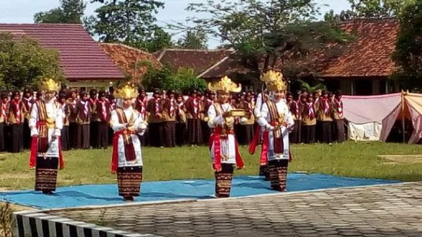 Masa oerintasi penegak ambalan Piere Tendean-Cut Meutia SMAN 1 Tanjungbintang Lampung Selatan. | Ist