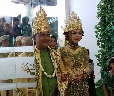 Ketua MK Arif Hidayat Hadiri Pernikahan Putri Dosen Hukum Unila Muhammad Akib