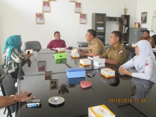 Komisi IV DPRD Lampung Utara Hearing dengan RSUD Ryacudu Kotabumi