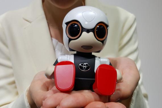 Menggemaskan! Robot Mini Kirobo Keluaran Toyota Motor Corp