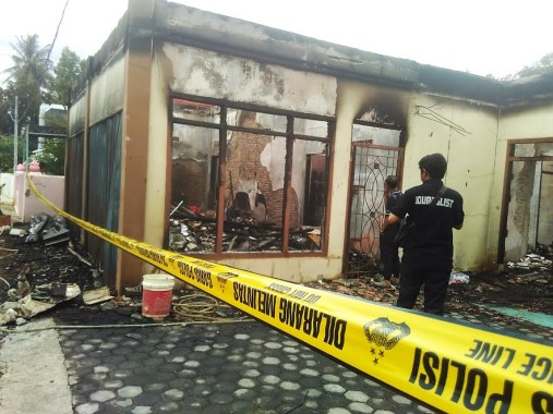 Rumah Terbakar di Gedung Meneng Bandar Lampung, Korban Rugi Rp 1,5 Miliar