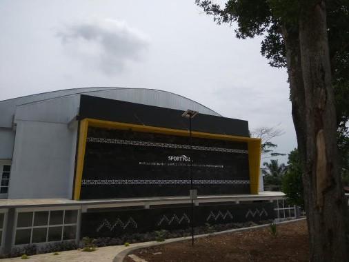Selain memiliki dua gedung besar asrama siswa, Sekolah Menengah Negeri Olahraga (SMANO) Lampung yang terletak di Tejosari, Metro Timur, Kota Metro ini juga memiliki Sport Hall yang dilengkapi Fasilitas 11 Cabang Olahraga, dan gym | Arif/jejamo.com