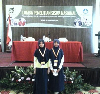 SMP Satya Dharma Sudjana Gunungmadu Lampung Tengah Gali Potensi Peneliti Muda
